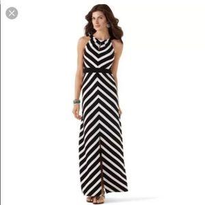 WHMB Striped maxi dress